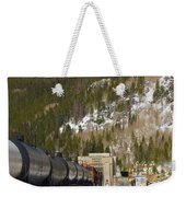 Moffat Tunnel East Portal At The Continental Divide In Colorado Weekender Tote Bag