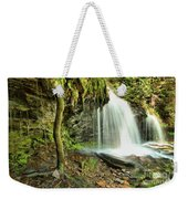 Mohawk Falls At Ricketts Glen Weekender Tote Bag