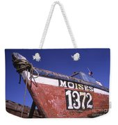 Moises The Fishing Boat Weekender Tote Bag