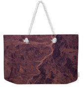 Mojave Desert Aerial Weekender Tote Bag