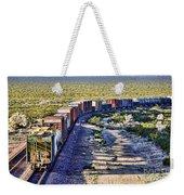 Mojave Desert Train By Diana Sainz Weekender Tote Bag