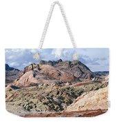 Mojave Desert View - Valley Of Fire Weekender Tote Bag