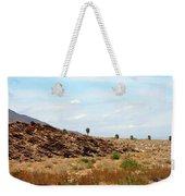 Mojave Desert Landscape Weekender Tote Bag