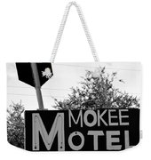 Mokee Motel Sign Circa 1950 Weekender Tote Bag