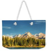 Molas Lake And The Needles Pan 1 Weekender Tote Bag