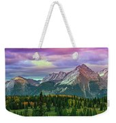 Molas Pass Sunset Panorama Weekender Tote Bag