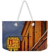 Miss Molly's Hotel Weekender Tote Bag