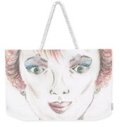 Mollys Makeover/ Pink Day Weekender Tote Bag