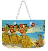 Moloka'i Hula 2 Weekender Tote Bag