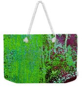 Molten Earth Lime Weekender Tote Bag
