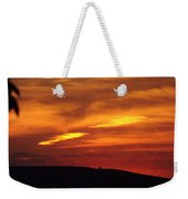 Molten Evening Weekender Tote Bag
