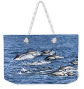 Mom And Baby On The Go Weekender Tote Bag