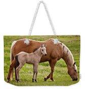Mom And Foal 2 Weekender Tote Bag