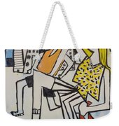 Mom And Son In Montreal Weekender Tote Bag