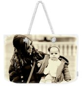 Mom Loves Baby Weekender Tote Bag
