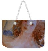 Mom Near Jupiter Weekender Tote Bag by Laurie Lundquist