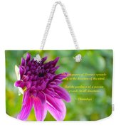 Moment Of Bloom Weekender Tote Bag