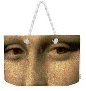 Mona Lisa    Detail Weekender Tote Bag