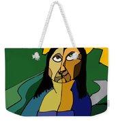 Mona Lisa Updated Weekender Tote Bag