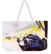 Monaco Grand Prix 1933 Weekender Tote Bag