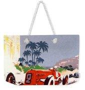 Monaco Grand Prix 1934 Weekender Tote Bag