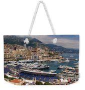 Monaco Panorama Weekender Tote Bag by David Smith