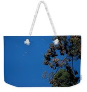 Monarch Butterflies Flying Weekender Tote Bag