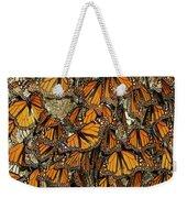 Monarch Butterflies Wintering Weekender Tote Bag