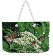 Monarch Butterfly 47 Weekender Tote Bag