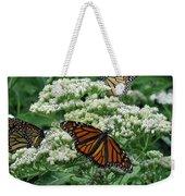 Monarch Butterfly 54 Weekender Tote Bag