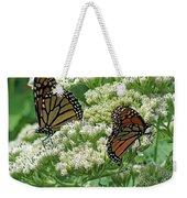 Monarch Butterfly 57 Weekender Tote Bag