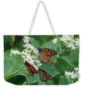 Monarch Butterfly 63 Weekender Tote Bag