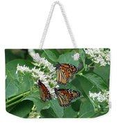 Monarch Butterfly 64 Weekender Tote Bag