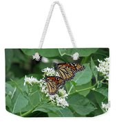 Monarch Butterfly 70 Weekender Tote Bag