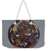 Monarch Butterfly Abstract Weekender Tote Bag