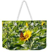 Monarch Butterfly And Guest Weekender Tote Bag