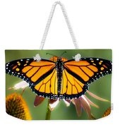 Monarch Butterfly Weekender Tote Bag
