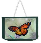 Viceroy Butterfly By George Wood Weekender Tote Bag