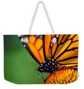 Monarch Butterfly Headshot Weekender Tote Bag