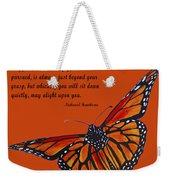 Monarch Butterfly Pismo Beach Weekender Tote Bag