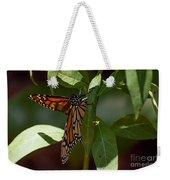 Monarch In The Shade Weekender Tote Bag