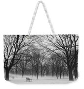 Monarch Park Ground Fog Weekender Tote Bag