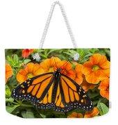 Monarch Resting Weekender Tote Bag