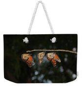Monarch Trio Weekender Tote Bag