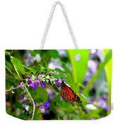 Monarch With Sweet Nectar Weekender Tote Bag