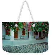 Monastery Symi Greece Weekender Tote Bag