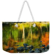 Monet Autumnal 02 Weekender Tote Bag by Aimelle