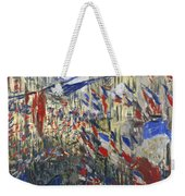 Monet: Montorgeuil, 1878 Weekender Tote Bag