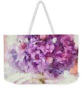 Monet Purple Pedestal Weekender Tote Bag