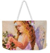 Monet Silked Angel Weekender Tote Bag